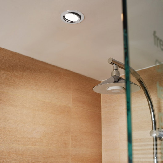 kit 1 spot encastrer salle de bains lindi orientable inspire led int gr e blanc leroy merlin. Black Bedroom Furniture Sets. Home Design Ideas