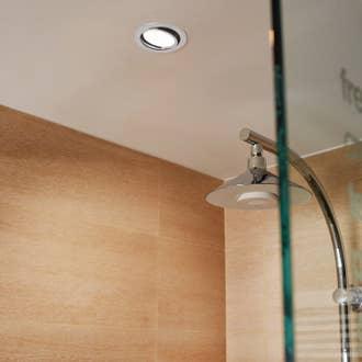 Kit 1 Spot à Encastrer Salle De Bains Extrabath Fixe Inspire Led