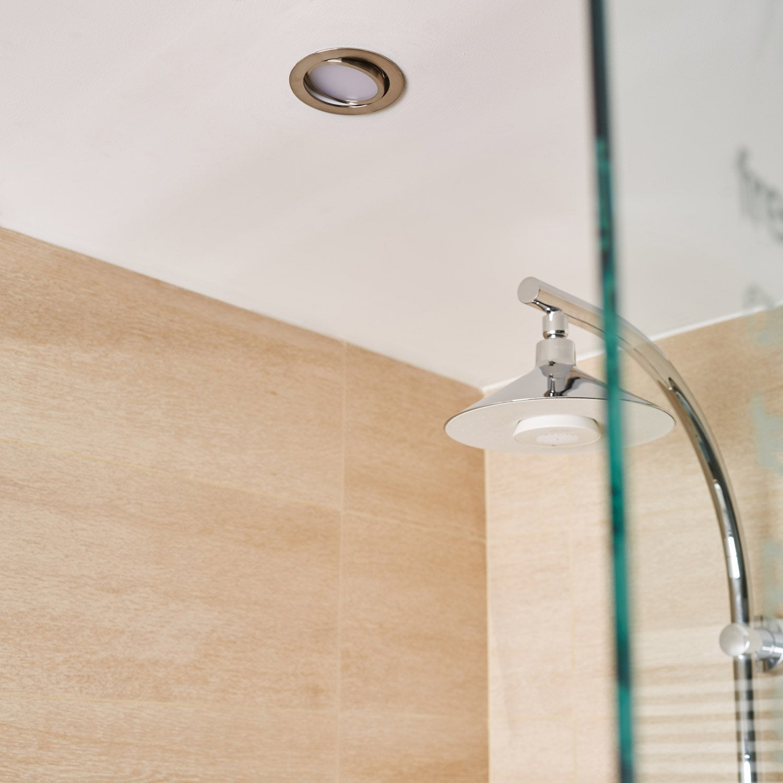 Kit 1 spot encastrer salle de bains Lindi orientable INSPIRE LED ...