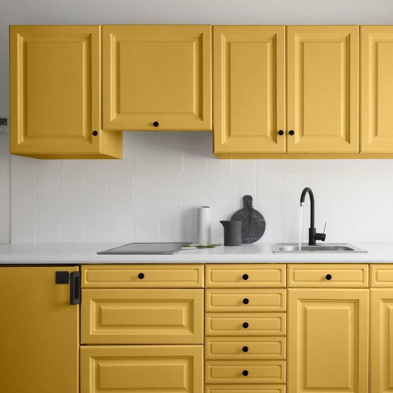 Peinture cuisine meubles, crédences V33, moutarde, 2 l, satin ...
