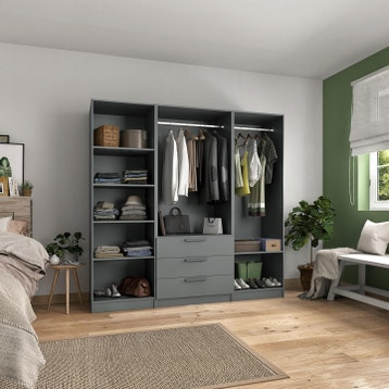 Dressing Modulable Chambre Leroy Merlin