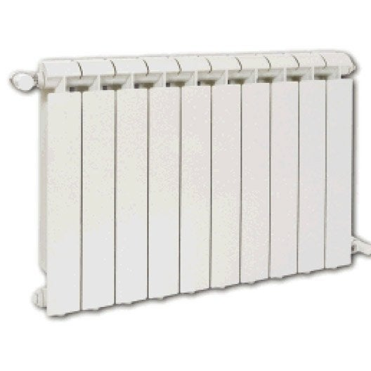 radiateur chauffage central klass blanc cm 1320 w leroy merlin. Black Bedroom Furniture Sets. Home Design Ideas