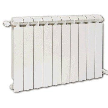 Radiateur chauffage central Klass blanc, l.80 cm, 1320 W