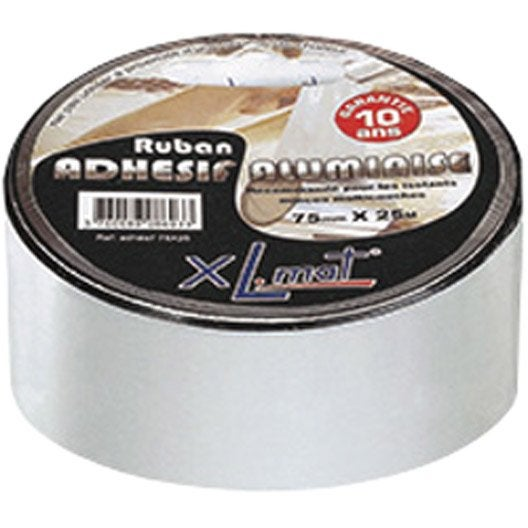 Rouleau adh sif isolant mince xl mat 100 mm x 25 m for Prix isolant mince
