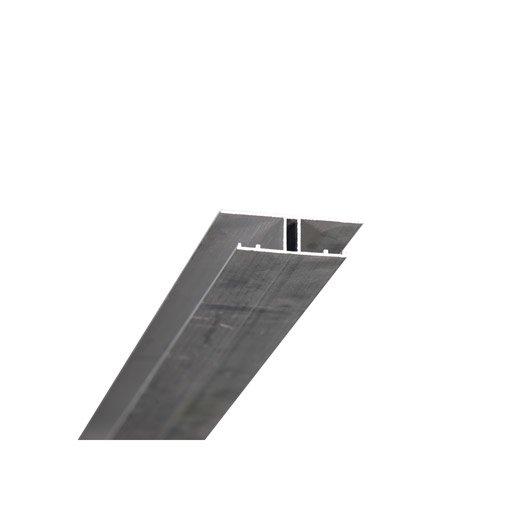 Profil jonction pour plaque ep 16 mm aluminium l 4 m - Profile alu en u ...