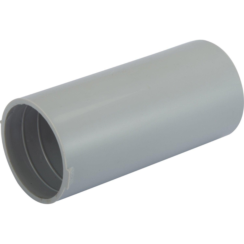 manchon pour tube irl diam 25 mm electraline leroy merlin. Black Bedroom Furniture Sets. Home Design Ideas