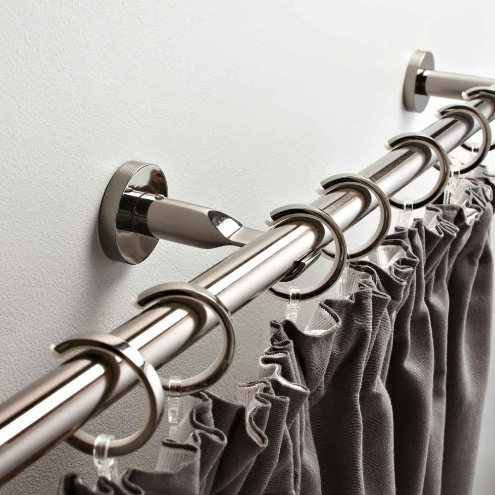 Comment choisir sa barre rideaux leroy merlin - Tringle a rideau grande longueur ...