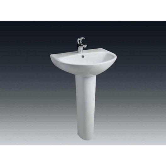 lavabo pour salle de bains lavabo vasque et plan vasque pour salle de bains leroy merlin. Black Bedroom Furniture Sets. Home Design Ideas