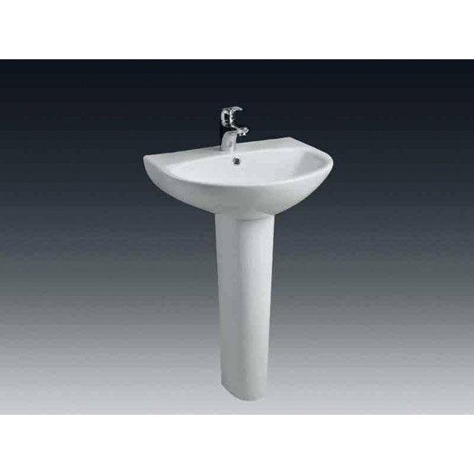 Lavabo pour salle de bains lavabo vasque et plan vasque for Meuble salle de bain lavabo colonne