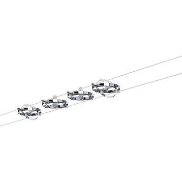 Kit complet câble PAULMANN Cardan GU5.3, 4 x 10 W