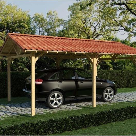 Tole imitation tuile pas cher trendy beau abri de jardin - Tole toiture pas cher ...
