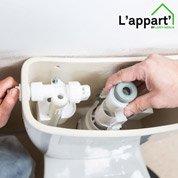 Comment découvrir le remplacement d'un mécanisme de WC ?