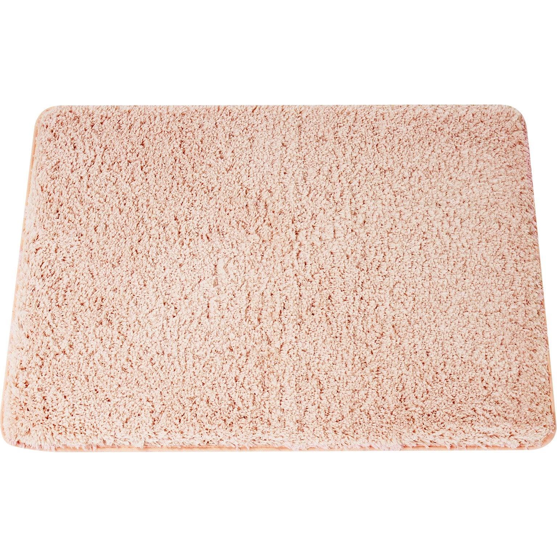 Tapis de bain l.50 x L.80 cm rouge velours n°6, Icône SENSEA