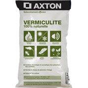 Vermiculite naturelle exfoliée AXTON, 100 L, R variable selon épaisseur