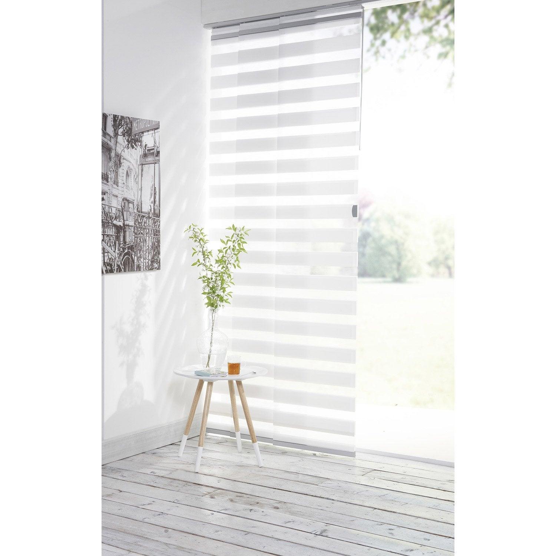 panneau japonais inspire jour nuit blanc x. Black Bedroom Furniture Sets. Home Design Ideas