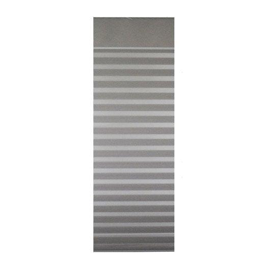 Panneau japonais inspire jour nuit gris x cm leroy merlin - Panneau japonais gris ...