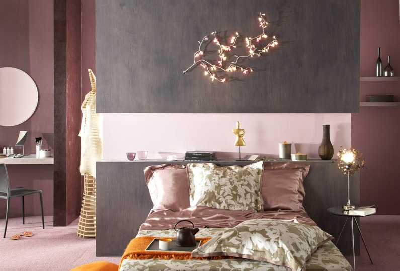 Emejing Peinture Gris Rose Chambre Gallery - Amazing House Design ...