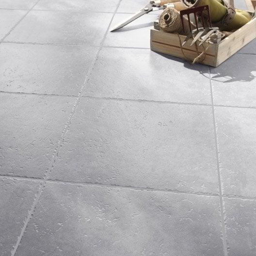 Carrelage sol gris perle effet pierre michigan x for Carrelage gris perle