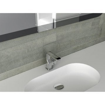 Mitigeur de lavabo chromé brillant Tono