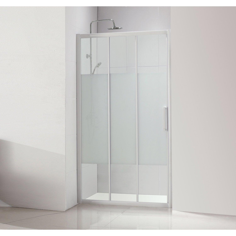 porte de douche coulissante 90 cm s rigraphi quad leroy merlin. Black Bedroom Furniture Sets. Home Design Ideas