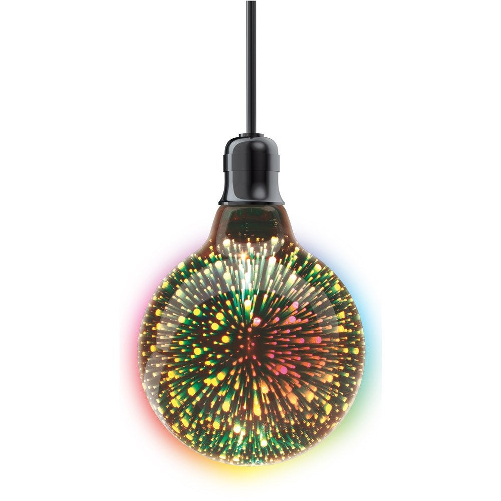 E27 Feu Ampoule Xanlite Led Décorative 125mm D'artificeGlobe WdCBxreo