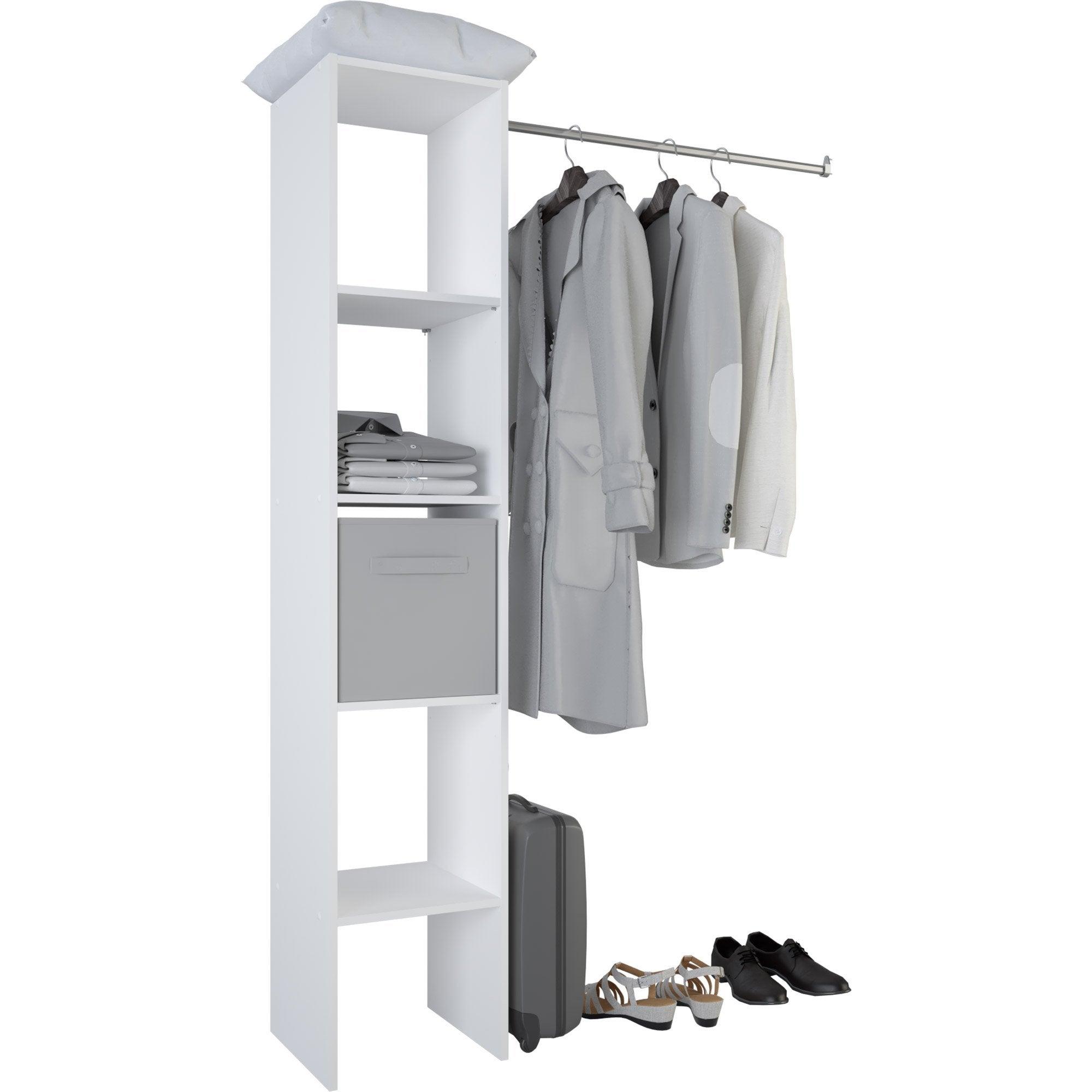 Genial Kit Dressing Blanc Basic H.185.5 X L.119.5 X P.39.8 Cm