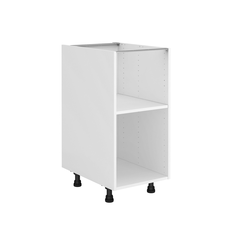 Caisson de cuisine bas DELINIA ID, blanc H.13.13 x l.13 x P.513 cm