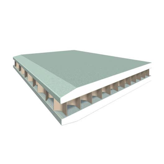 Cloison Hydrofuge Pour Salle De Bain ~ cloison alv olaire hydro ce 2 5 x 1 2 m ep 5 cm leroy merlin
