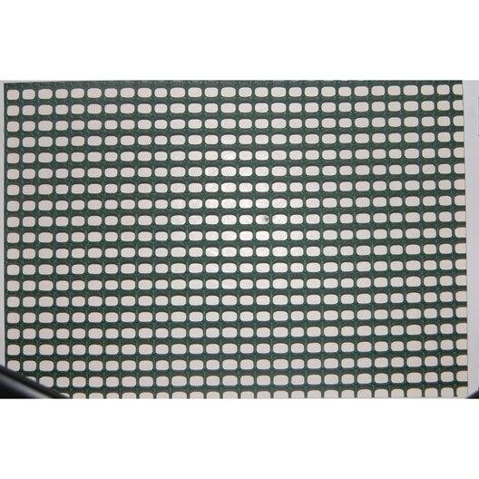 grillage extrusion vert h 1 x l 3 m maille de h 5 x l 5 mm leroy merlin. Black Bedroom Furniture Sets. Home Design Ideas