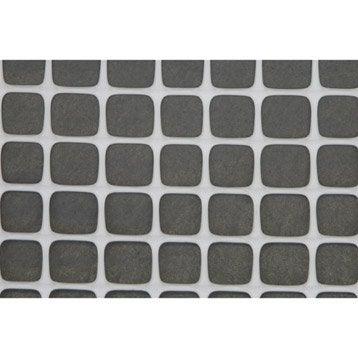 Grillage extrusion blanc H.1 x L.3 m, maille de H.20 x l.20 mm