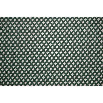 Grillage rouleau extrudé vert, H.1 x L.5 m, maille H.3 x l.3 mm