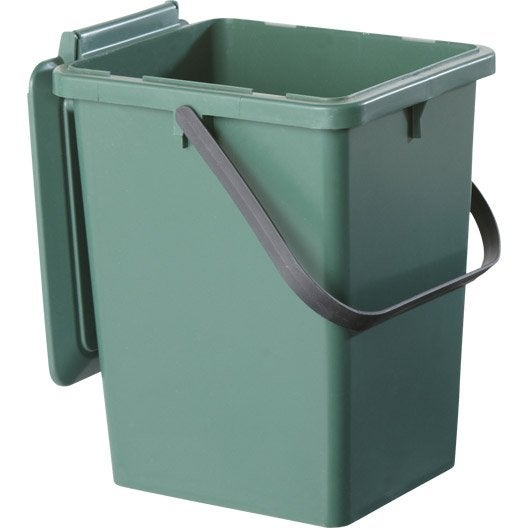 seau monobloc garantia bio seau vert sapin 8 l leroy merlin. Black Bedroom Furniture Sets. Home Design Ideas