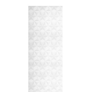 Panneau japonais, Origami blanc, H.250 x l.50 cm