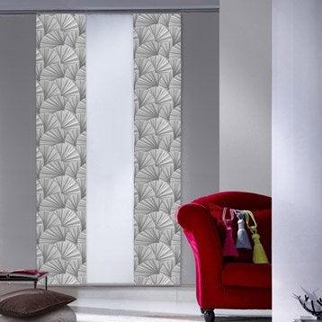 panneau japonais egyptia gris 250 x 50 cm. Black Bedroom Furniture Sets. Home Design Ideas