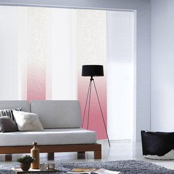 panneau japonais store panneau japonnais et store lamelles leroy merlin. Black Bedroom Furniture Sets. Home Design Ideas