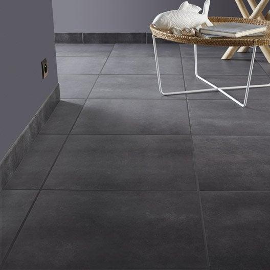 carrelage sol et mur gris fum 233 effet b 233 ton soho l 45 x l 45 cm leroy merlin