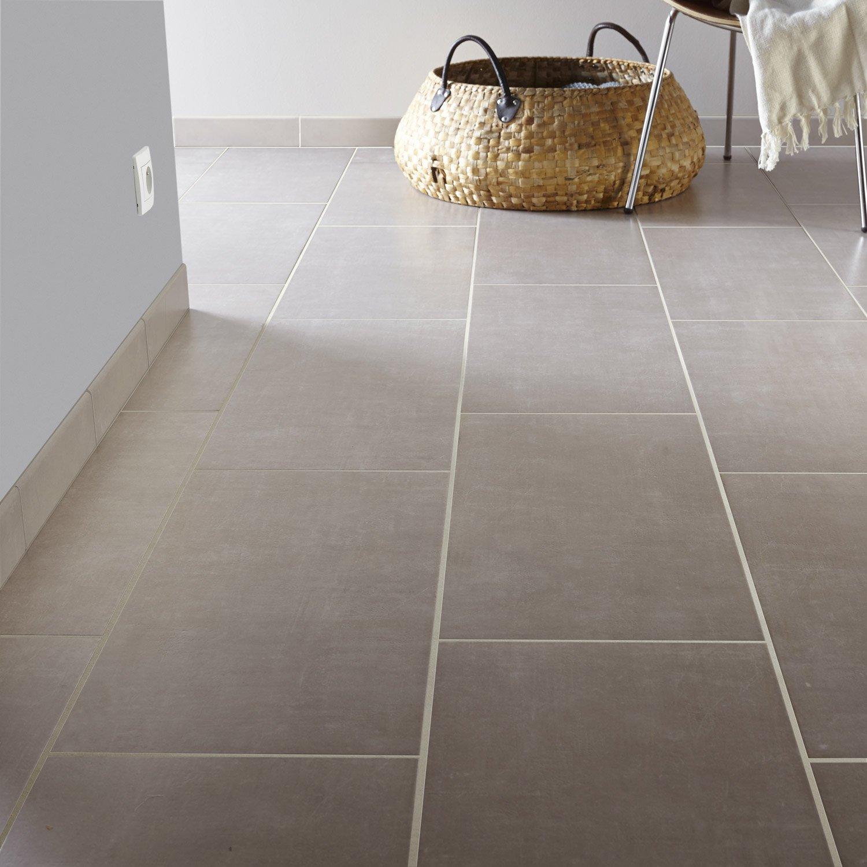 carrelage sol et mur gris perle effet b ton area x cm leroy merlin. Black Bedroom Furniture Sets. Home Design Ideas