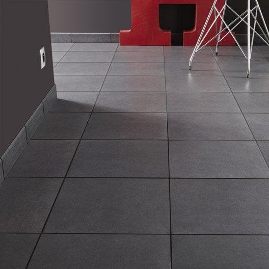 carrelage sol et mur noir effet b ton jet x. Black Bedroom Furniture Sets. Home Design Ideas