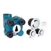 Kit VMC simple flux autoréglable à détection d'humidité Olympic