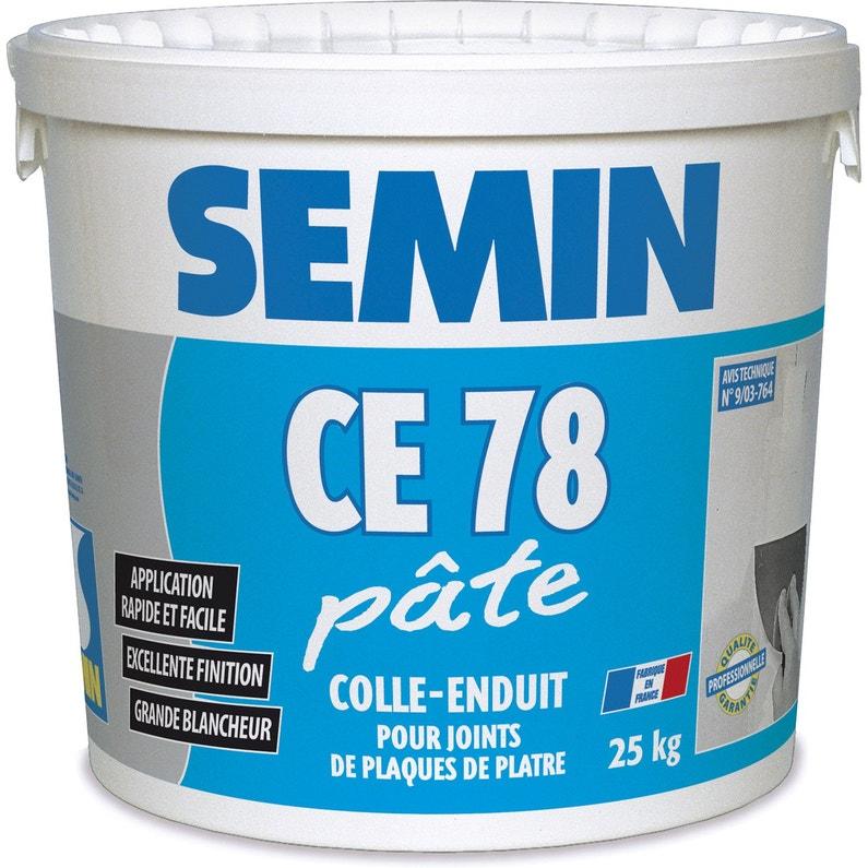 Enduit Joint Plaque Plâtre Ce78 Semin Pâte 25kg