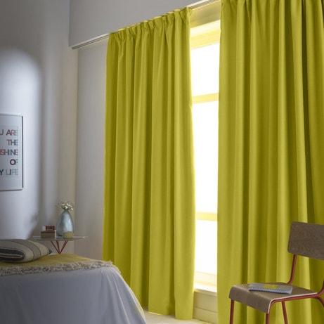 le rideau occultant qui stoppe la lumi re leroy merlin. Black Bedroom Furniture Sets. Home Design Ideas