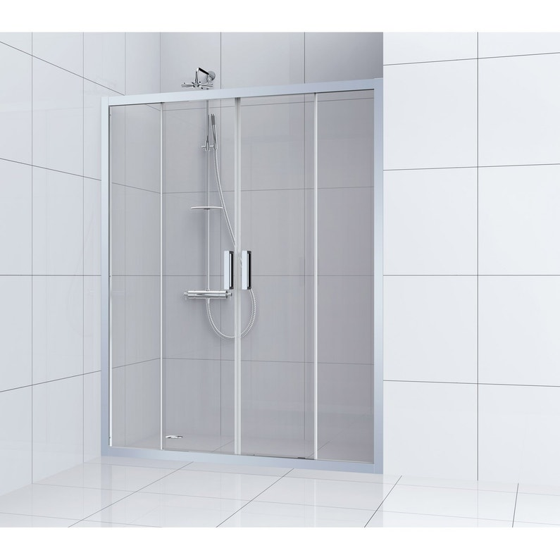 Porte De Douche Coulissante 160 Cm Transparent Charm