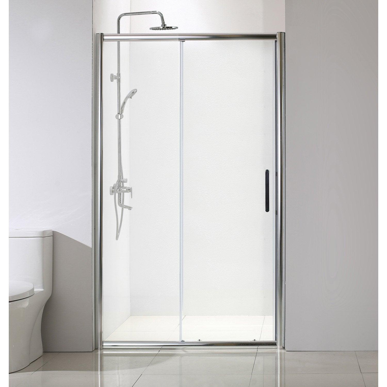 High class porte coulissante cabine de douche screen for Porte de douche coulissante avec enceinte salle de bain sans fil