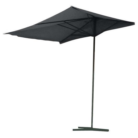 Parasol balcon gris rectangulaire l 250 x l 150 cm