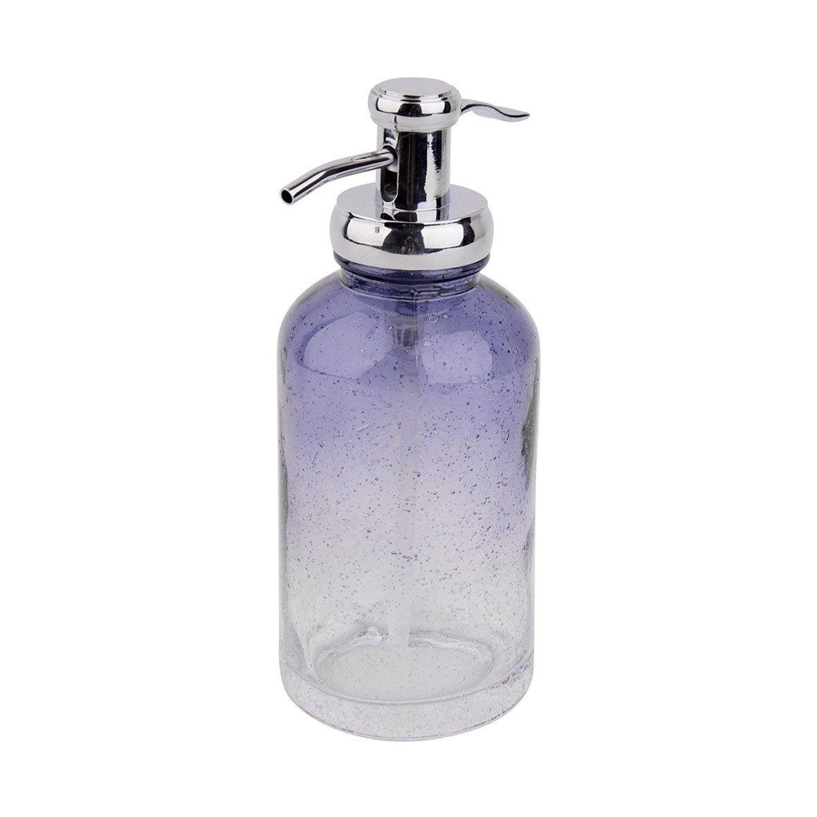 Distributeur de savon verre Atmosphere, bleu