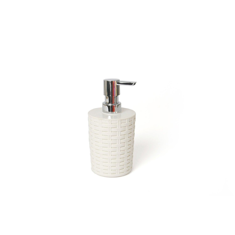 Distributeur de savon plastique Cottage, cream n°5
