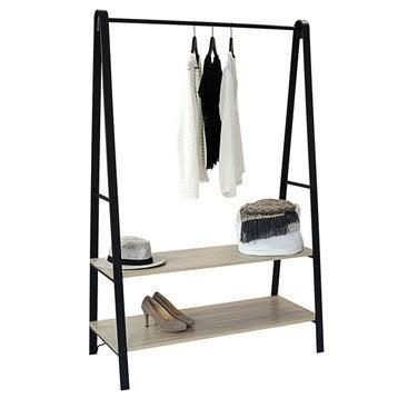 Portant Pour Vêtements Et Housse Pour Penderie Au Meilleur Prix - Portant en bois