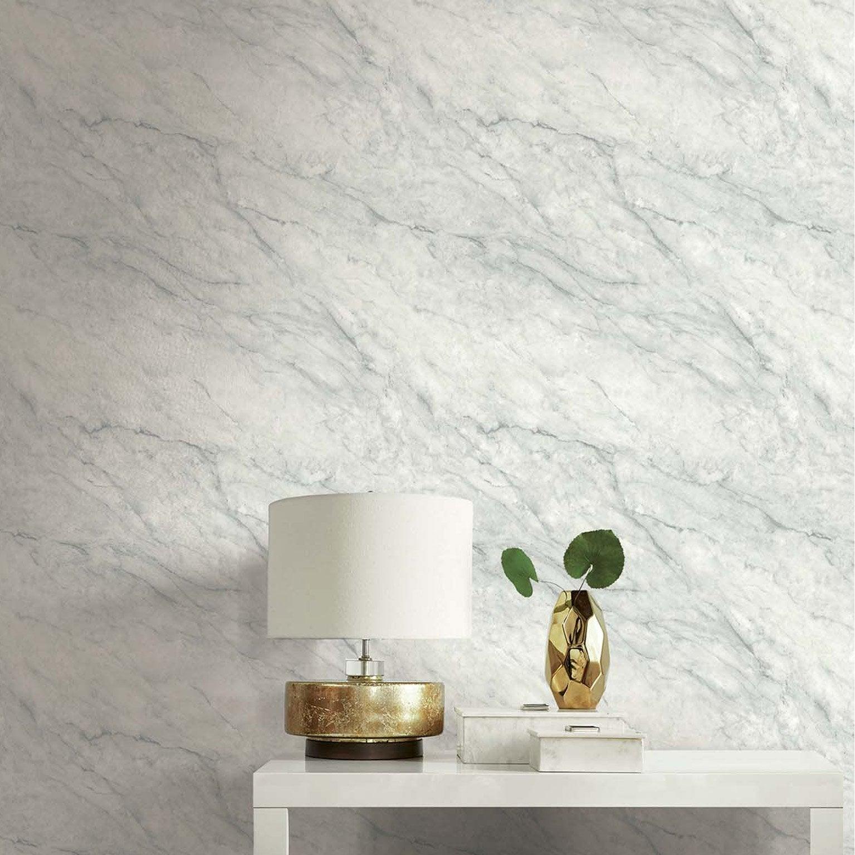 Papier Peint Effet Crepi papier peint papier luxe renouveau marbre blanc