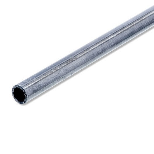 tube rond acier brut l 1 m x diam 6 mm leroy merlin. Black Bedroom Furniture Sets. Home Design Ideas