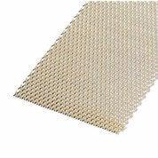 Tôle perforée aluminium anodisé, L.200 x l.100 cm x Ep.1.6 mm